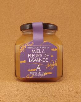 Préparation à base de miel et de fleurs de lavande, Quercy