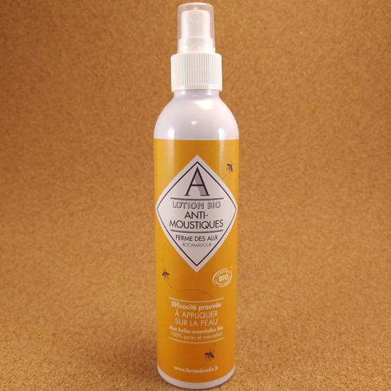 Lotion bio anti-moustiques aux huiles essentielles Quercy Ferme des Alix