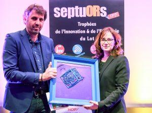Cérémonie des Septuors 2017 - Ferme des Alix récompensée
