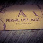 Ferme des Alix à Rocamadour - notre carte de visite
