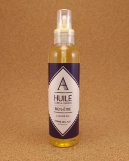 huile bien-être corps et cheveux, lavande du Quercy
