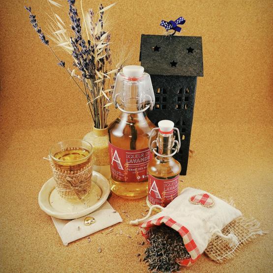 Liqueur de lavande vraie du Quercy, Ferme des Alix