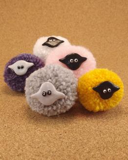 moutons décoratifs aimantés