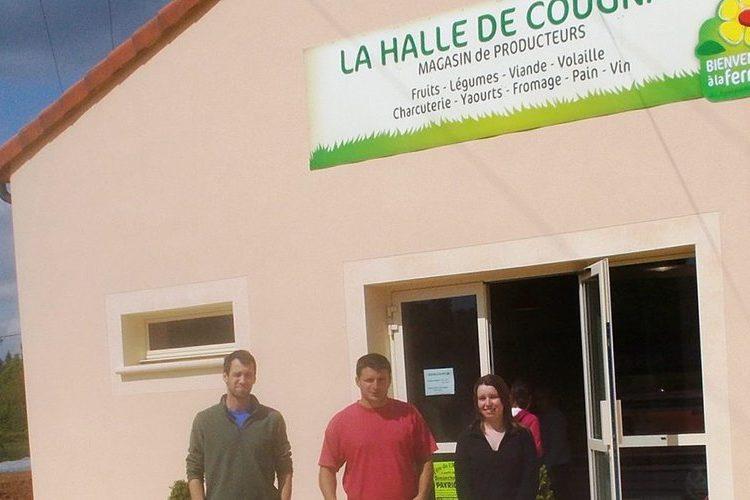 Point de vente Halle de Cougnac